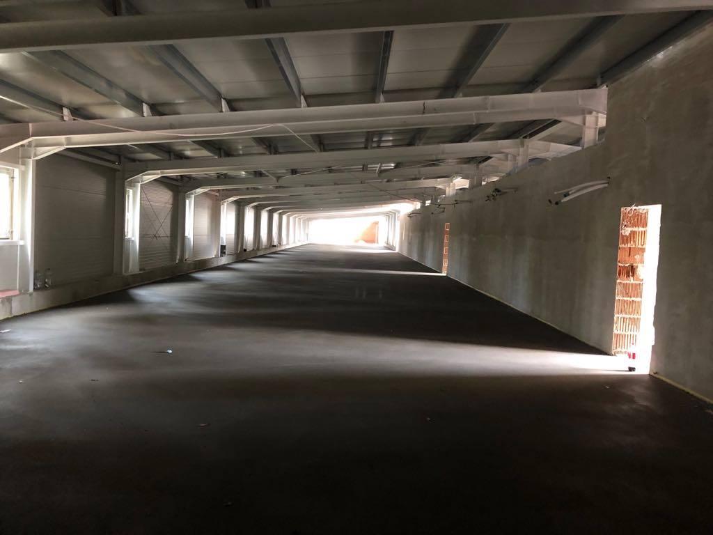 Futópálya, Estrich betonozás, Kecskemét